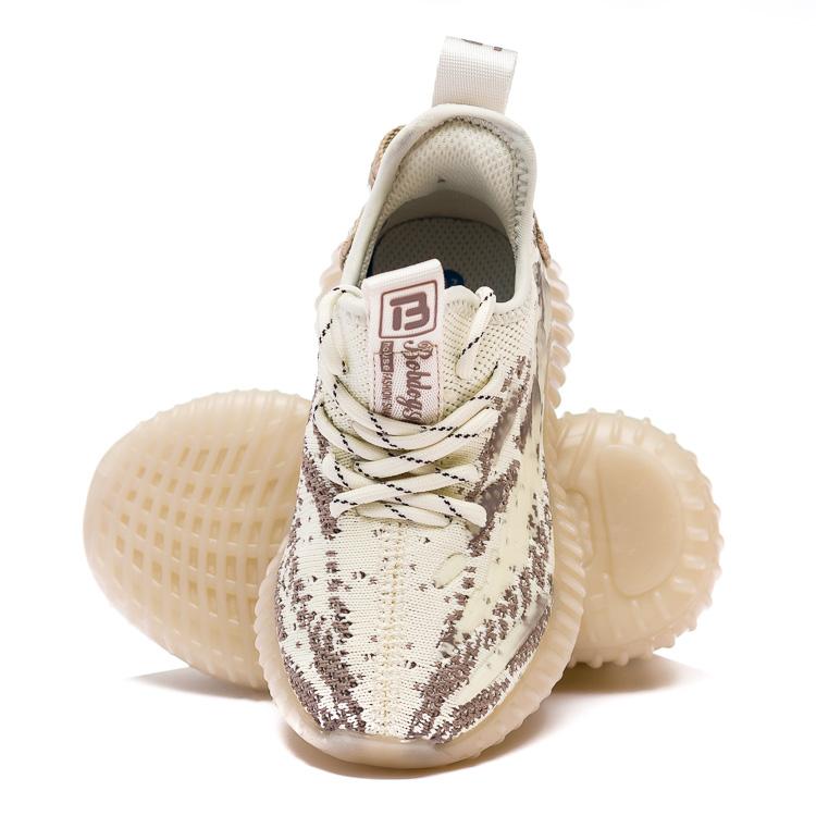 Кроссовки Fashion бежевые для девочки и для мальчика