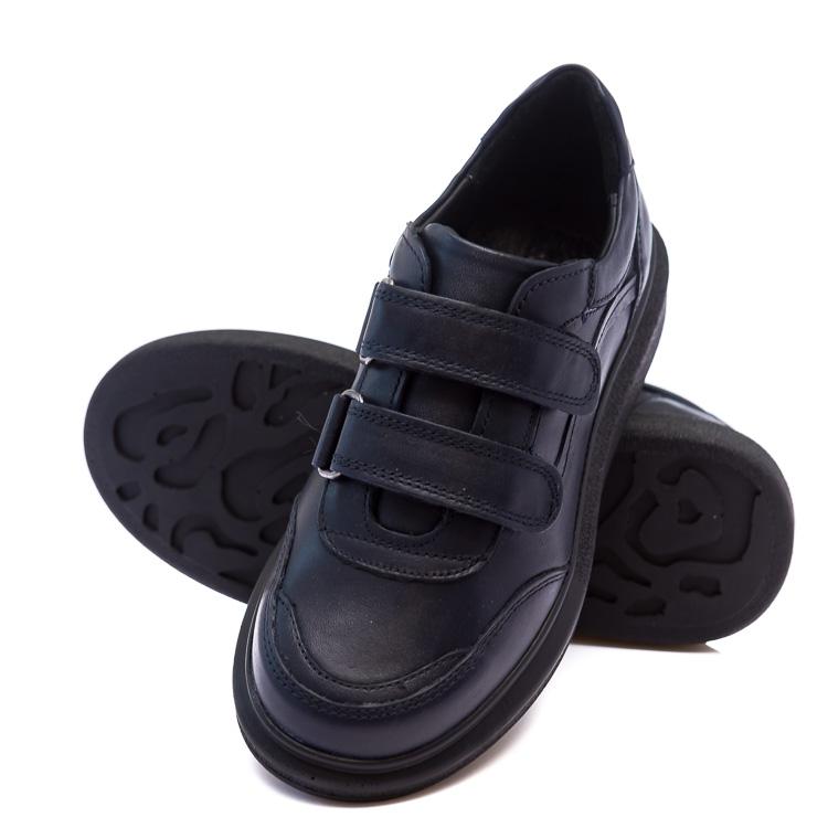 Кроссовки КалориЯ синие для мальчиков