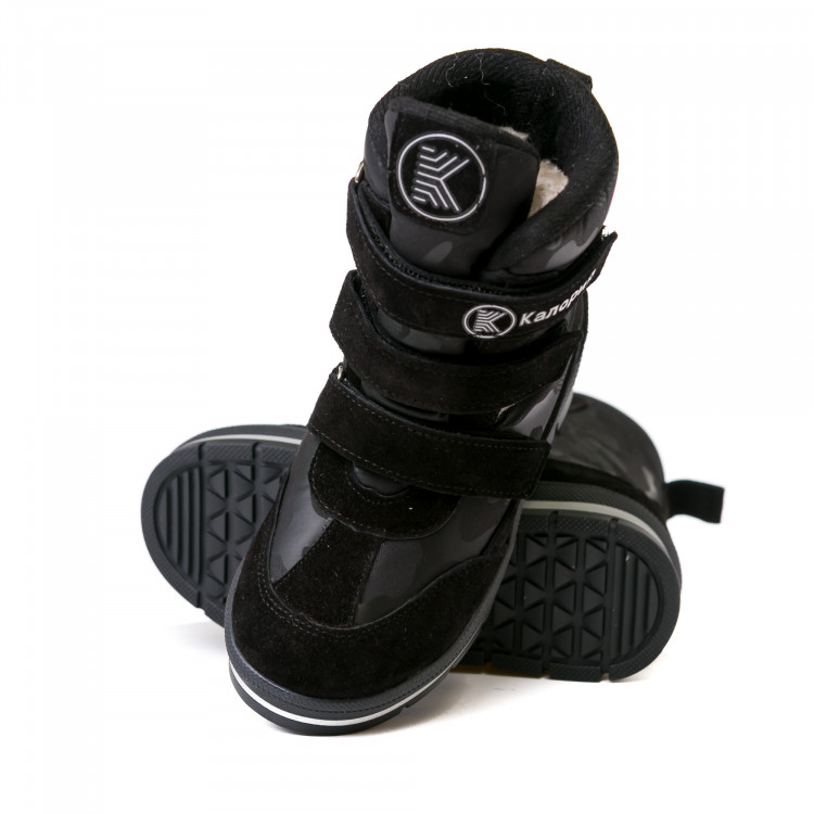 Термо ботинки КалориЯ чёрные