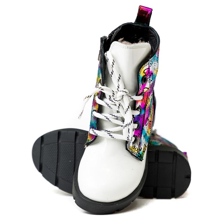 Ботинки зимние КалориЯ белые