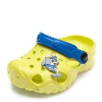 Шлёпки кроксы 117070 жёлто/синие