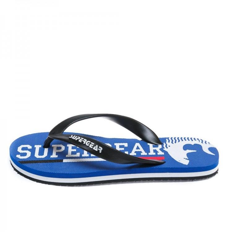 Вьетнамки Super Gear В 1255 голубые