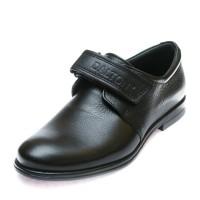 Туфли 6042(01)  чёрная кожа (28-30)
