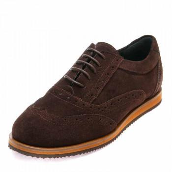 Туфли Minibel T207(80)PR шоколад (31-36)