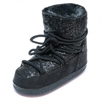 Зимние ботинки Cool Moon 251004 чёрные (36-41)