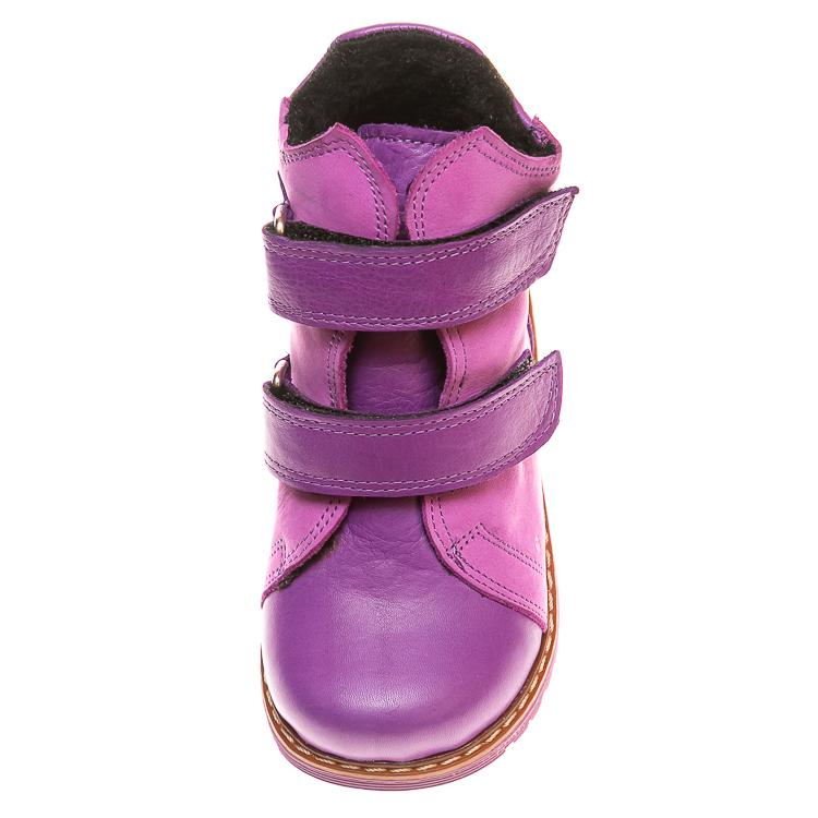 Ботинки д/с Panda 075B(1)сиреневые (21-25)