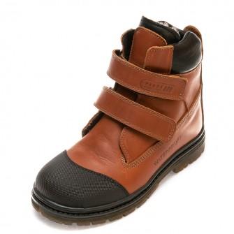 Зимние ботинки Panda 214P(058)рыжие(26-30)