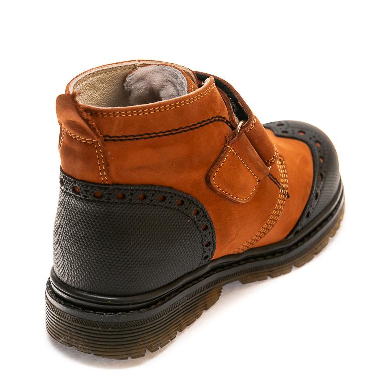 Зимние ботинки Panda 285F(323)рыжие(31-36)