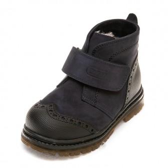 Зимние ботинки Panda 285P(300)тем.син(26-30)