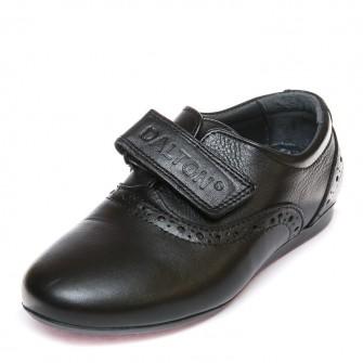 Туфли 9050(01) чёрная кожа (26-30)