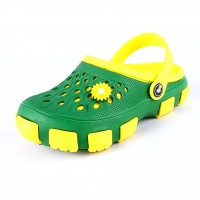 Кроксы 116120 желт/зелен