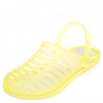 Шлёпки кроксы 233-4 жёлтые