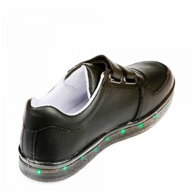 Кроссовки LED DALTON 2050 чёрн лип