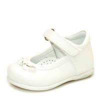 Туфли 1125 белые лак (19-21)