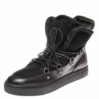 Зимние ботинки Cool Moon 157612 чёрные (36-41)