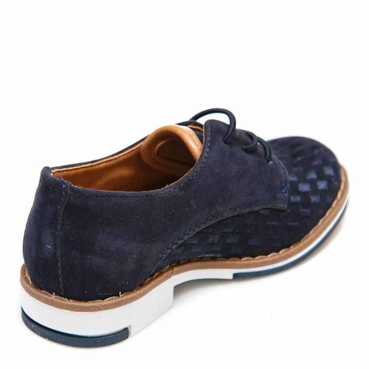 Туфли Sibel Bebe 3522-1 синяя замша (22-25)