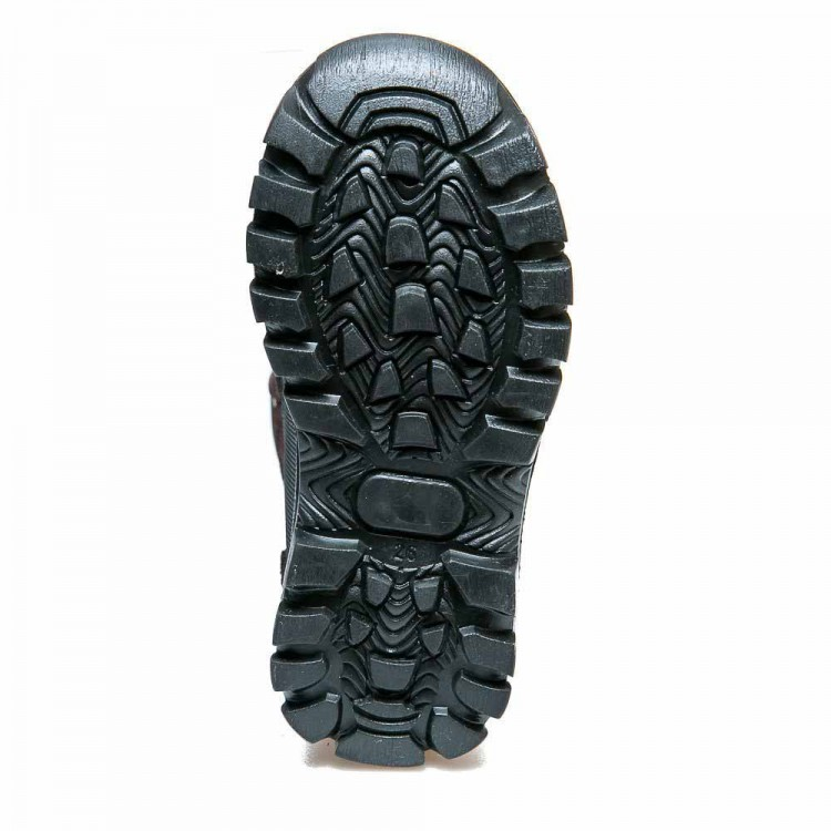 Термо ботинки Panda 329(602) чёрные/коричн