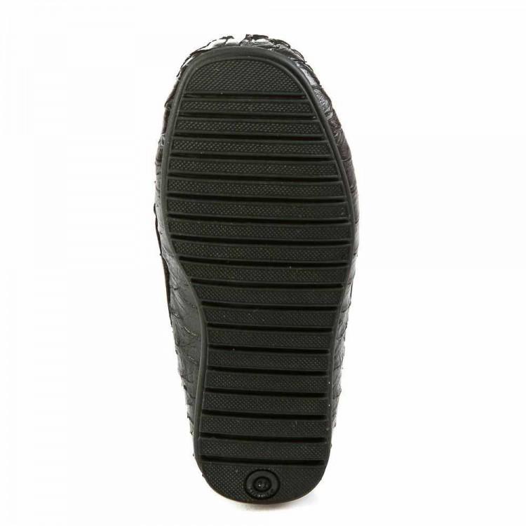 Мокасины Minibel T78(596-27)A чёрный питон (21-25)
