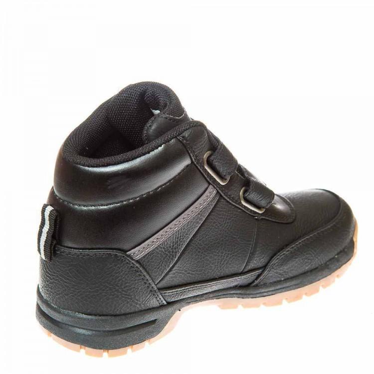 Ботинки д/с Kappa 1111 чёрные (28-35)