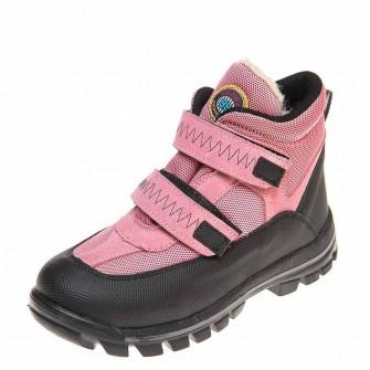 Термо ботинки зима 330(615)розовые корот (26-30)