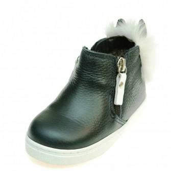 Ботинки зима T544(78)синяя кожа