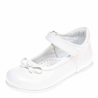 Туфли Sibel Bebe 2125 белый лак (22-25)