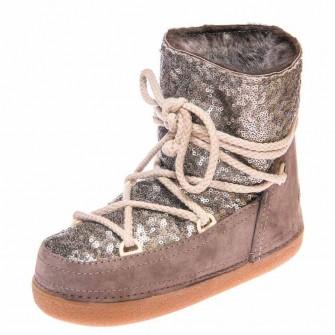 Зимние ботинки Cool Moon 251004 коричневые (36-41)
