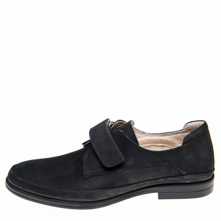 Туфли Panda 01AKS06(5)чёрный нубук (37-40)