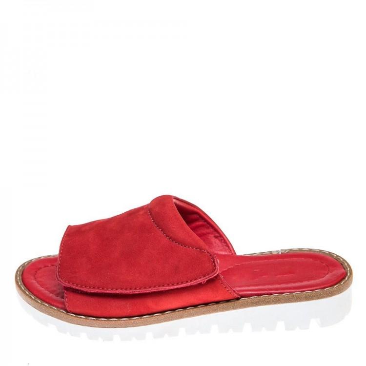 Шлёпки Minibel T520(142)красные (31-36)