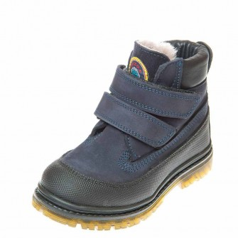 Зимние ботинки Panda 500(300) синие (26-30)