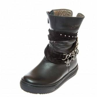 Зимние ботинки K.Pafi 36315(01) чёрные