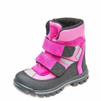Термо ботинки зима 329(612)малиновый