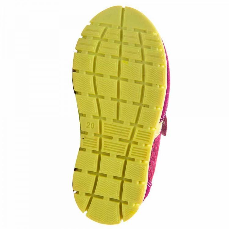 Кроссовки minipicco A1821 1лип малин/желт (19-23)