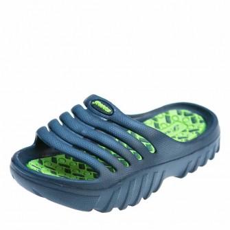 Шлёпки Super Gear 5031 H син\зелёные (24-29)