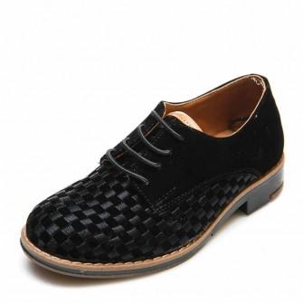 Туфли 3526-2 чёрная замша (26-30)