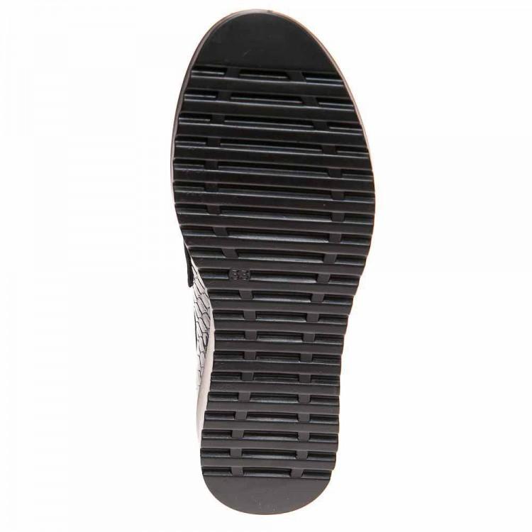 Туфли Panda 03280(53-89) синий лак с бантиком (31-36)