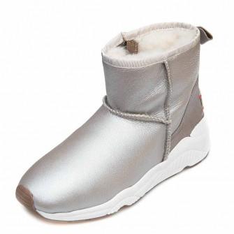 Зимние ботинки Cool Moon 157401 серебро кожа (36-41)