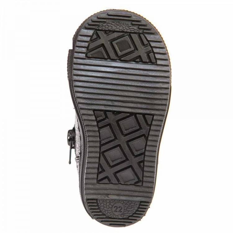 Ботинки д/с K.Pafi 37050(4)чёрные/золото (21-25)