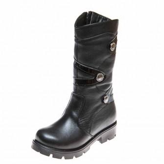 Сапоги зима 500754(32) чёрный