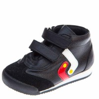 Ботинки д/с ТБ21-25 чёрн кожа (21-25)
