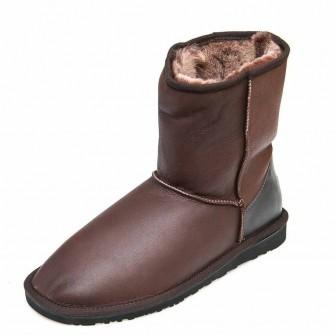 Угги Ankara 111201(2103)Man коричневая кожа