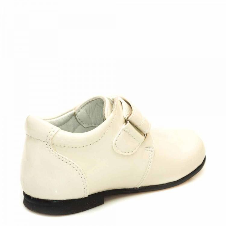 Туфли Sibel Bebe 1124 бежевые лак (19-21)