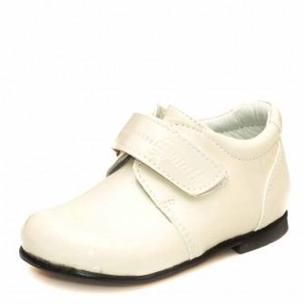 Туфли 1124 бежевые лак (19-21)