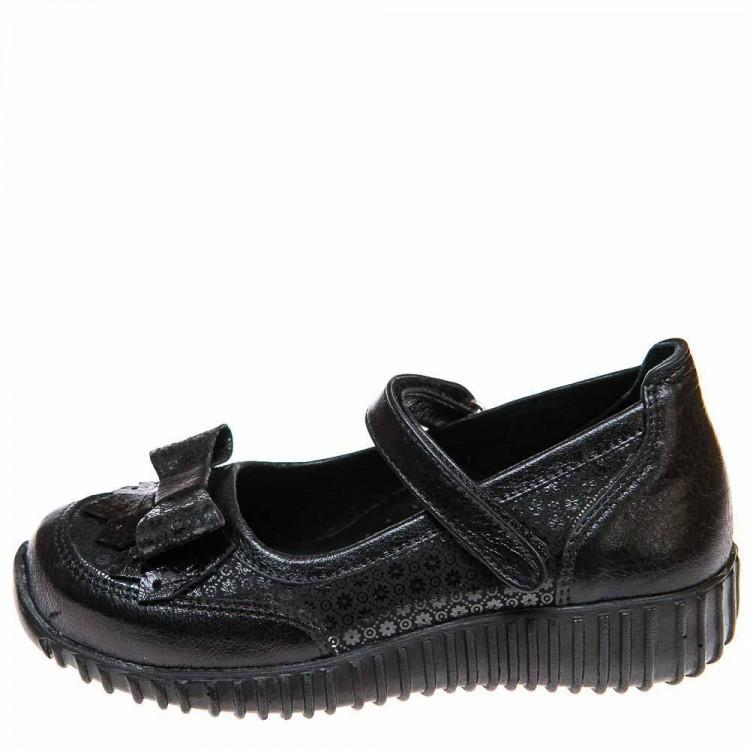 Туфли Panda 02444(771)чёрные с узором (28-30)