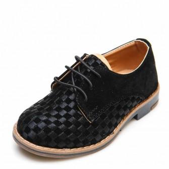 Туфли 3522-2 черная замша (22-25)