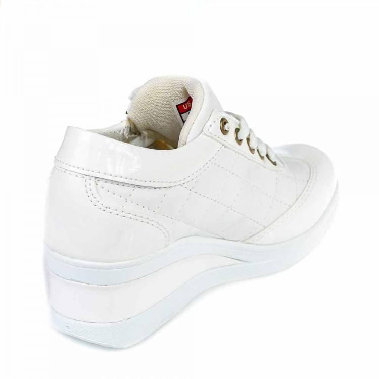 Кроссовки Mille белые для девочки