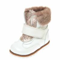 Ботинки зима 7002(27-603) белые