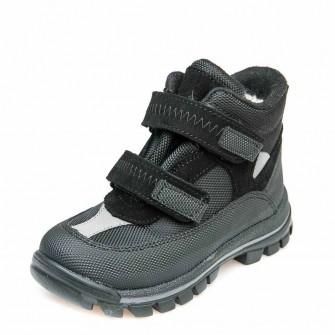 Термо ботинки зима 330(307) чёрные
