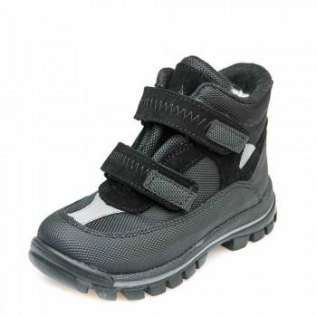 Ботинки зима 330(307) чёрные