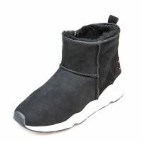 Зимние ботинки Cool Moon 157401 чёрная замша (36-41)